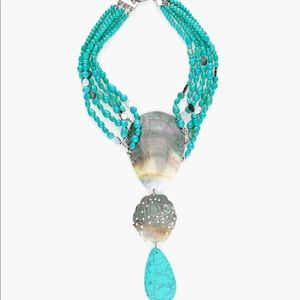 NWT Chico's turquoise necklace